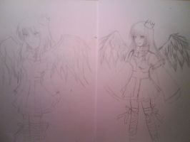 my old and new Angel Light Pic by Shuran-Ruki