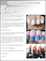 Rainbow Grunge Tutorial by Alchemical