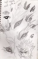 Wolf Studies and Designs 2 by Sazuko