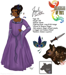 Chronicles of Phyx - Character Sheet: Jazelia by Guiled-Dragon