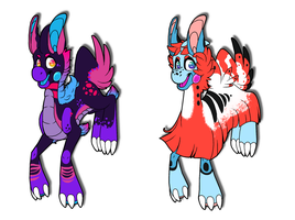 Cer'kelo Egg Adopts: Hatched by Nikkoleon