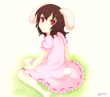 Tewi Inaba by lelacrime