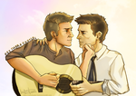 Hey there, Castiel by lumen-a