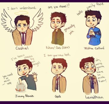 We Love Misha Collins by kaiser-mony