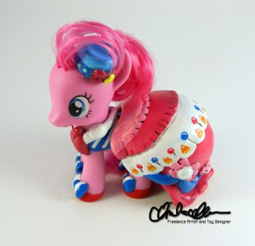 Suited for Success Pinkie Pie Custom MLP by thatg33kgirl