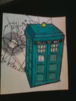TARDIS TATTOO SKETCH by LaurenWiles