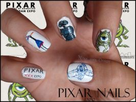 Pixar Nails by Ninails