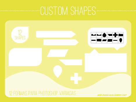 12 Custom Shapes by JustLaugh143