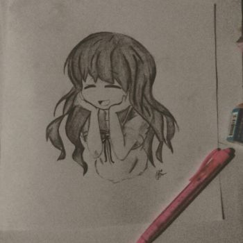 Anime Sketch by haidenicole