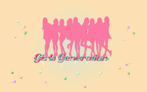SNSD - Candy Wallpaper by helloworld409