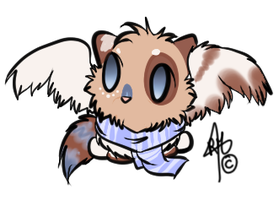Supra Chibi Request #1 by RippedMoon