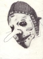 Slipknot dude by 3FF3CT