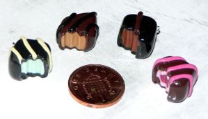 Fimo Chocolate Charms by jen-kollic