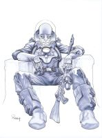 Mr. Freeze by TomRaney