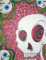 Eye See You Skull by ToniTiger415