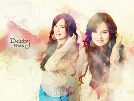 Debby Ryan Graphic by softmist93