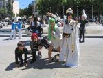 Emperor Lelouch and the Gang by Stormfalcon