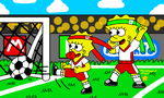 Little Soccer Players by MarioSimpson1