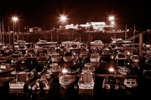 Sepia Harbour by hydrodjinn
