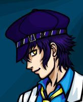 Naoto in Paint by WafflesMcCoy