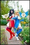 Luvia and Rin on connichi by nuramoon