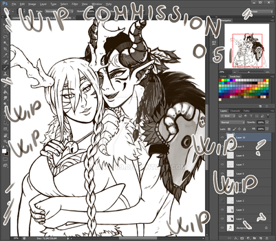 Wip commission 051 by Angy89