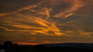Chemtrail skies by CycleMotion