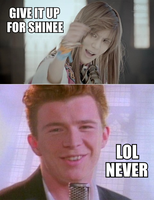 KPOP MACRO - Never gonna give SHINee up by Mianhaeyo