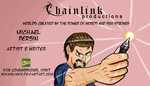 Chainlink Productions Business Card by xchainlinkx