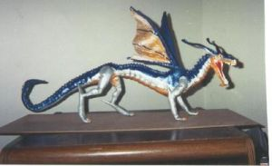 My first dragon circa 2000 by Blaquetygriss