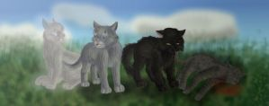 The Outcasts of ThunderClan by Jayie-The-Hufflepuff