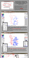 Tutorial Part 1: Sketching and Lineart by tabby-like-a-cat