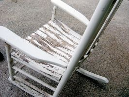old rocking chair by shane613
