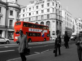 Life in London by Blind-Sparrow