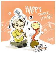 2013-02-09 Snake Year by amoykid