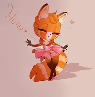 .: Gift- Nunu the Red Panda :. by Shaymikuu
