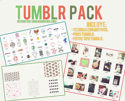+Tumblr Pack. by HooliganRawr