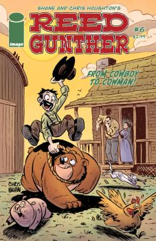 Reed Gunther issue 6 Cover by ReedGunther