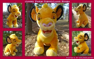 Jumbo Paris DisneyLand Simba Cub by DoloAndElectrik