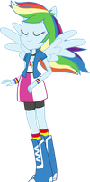 Equestria Girls: Rainbow Dash by TheShadowStone