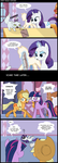 Rarity Reads Cupcakes by Musapan