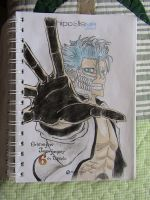 Bleach Manga Cover Grimmjow by ser-en