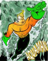 Aquaman by comical-artist
