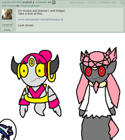 Diancie and Hoopa's Response 3 by YingYangHeart