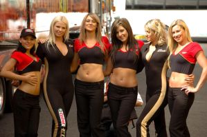 Supercheap Auto Girls by Mitchography