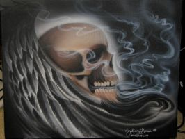 Angel Wings By:Johnny Bones by Bonesart1