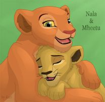 Nala and Mheetu by dukacia