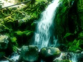 Waterfall Stock 2 by sophia-T
