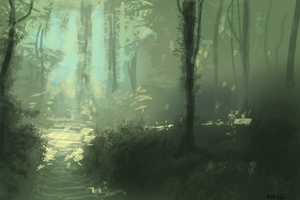 forest environ by Activoid