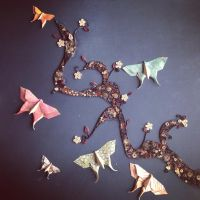 Butterflies in Spring by OcularFracture